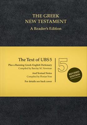 UBS 5 Greek New Testament (Mass Market)