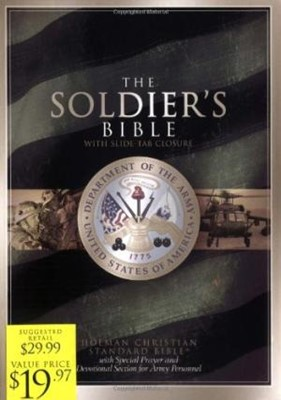 The Soldier's Bible, Green Bonded Leather (Bonded Leather)