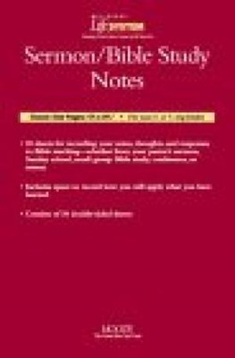 Bls Sermon Note Sheets- Package Of 30 (Calendar)