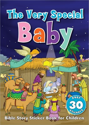 The Very Special Baby Sticker Book (Paperback)