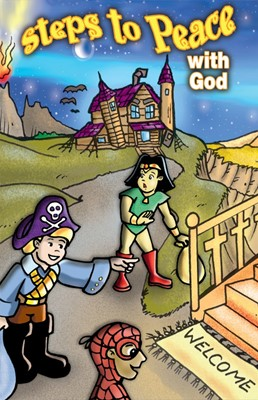 Steps To Peace With God Halloween (Pack Of 25) (Tracts)