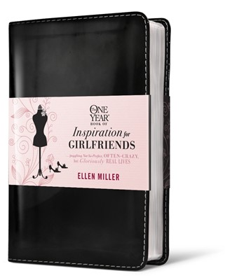 The One Year Book Of Inspiration For Girlfriends (Leather Binding)