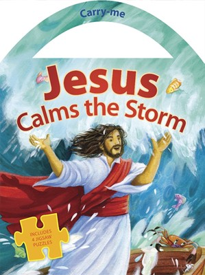 Jesus Calms The Storm (Board Book)