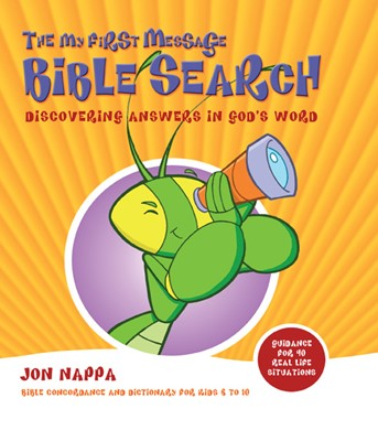 The My First Message Bible Search (Hard Cover)