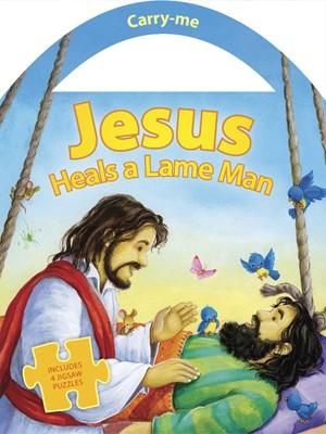 Jesus Heals A Lame Man (Board Book)