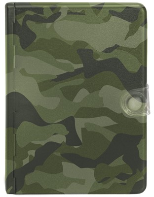 NLT Metal Bible: Camouflage (Other Book Format)