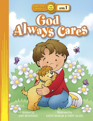 God Always Cares (Board Book)