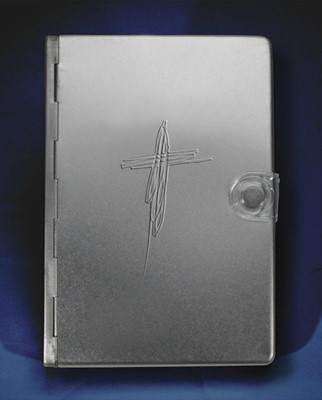 NLT Metal Bible: Silver Cross (Other Book Format)