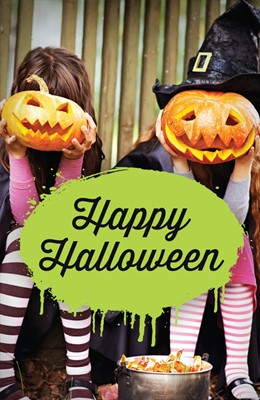 Happy Halloween (Ats) (Pack Of 25) (Tracts)