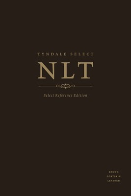 NLT Tyndale Select Reference Edition, Brown Goatskin Leather (Leather Binding)
