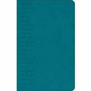 GW Pray The Scriptures Bible Teal, Lord's Prayer Design Dur (Leather Binding)