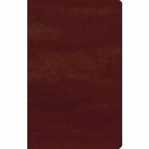 GW Names Of God Bible Mahogany, Hebrew Name Design Duravella (Leather Binding)