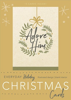 Adore Him Boxed Christmas Cards (Cards)