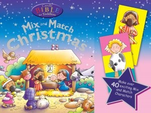 Candle Bible For Toddlers Christmas Mix And Match (Mixed Media Product)