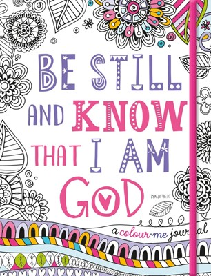Be Still And Know That I Am God Journal (Paperback)