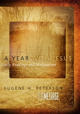 A Year With Jesus (Hard Cover)
