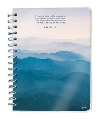 2017 Psalms 12-Month Spiral Engagement Planner (Calendar)
