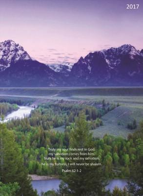 2017 Psalms 12-Month Simplicity Planner (Calendar)