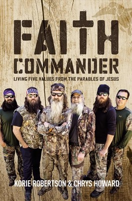Faith Commander With DVD (Paperback w/DVD)