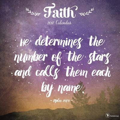 2017 Faith Wall Calendar (Calendar)