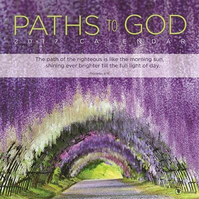 2017 Paths to God Wall Calendar (Calendar)