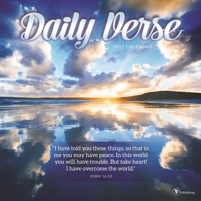 2017 Daily Verse Wall Calendar (Calendar)