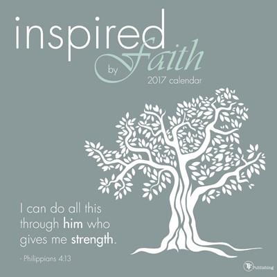 2017 Inspired By Faith Wall Calendar (Calendar)