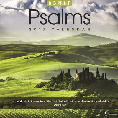 2017 Psalms Wall Calendar (Calendar)