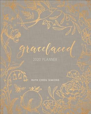 GraceLaced 2020 12-Month Planner (Hard Cover)