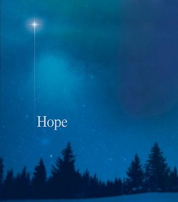 Hope Star Advent Bulletin, Large (Pkg of 50) (Bulletin)