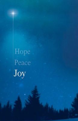 Joy Star Advent Bulletin (Pkg of 50) (Bulletin)