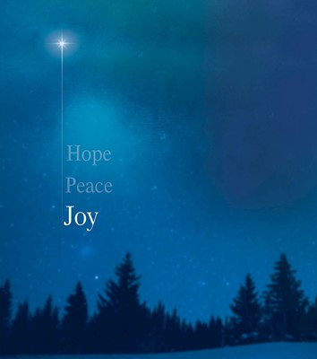 Joy Star Advent Bulletin, Large (Pkg of 50) (Bulletin)