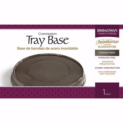 Titanium Tray Base (General Merchandise)