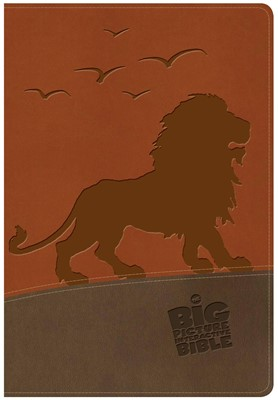 NKJV Big Picture Interactive Bible, Lion LeatherTouch (Imitation Leather)