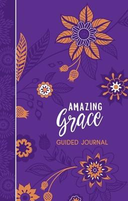 Amazing Grace Guided Journal (Imitation Leather)