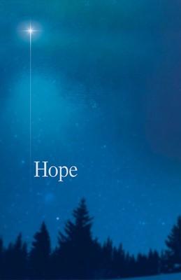 Hope Star Advent Bulletin (Pkg of 50) (Bulletin)