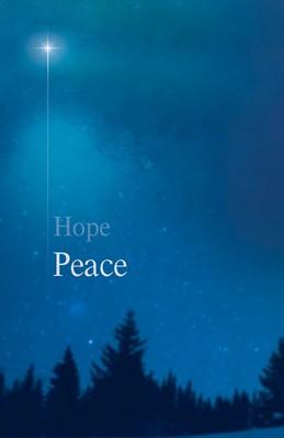 Peace Star Advent Bulletin (Pkg of 50) (Bulletin)