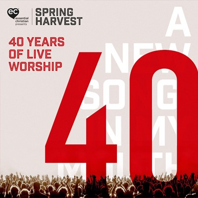 Spring Harvest - 40 Years of Live Worship CD (CD-Audio)