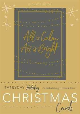 All Is Calm, All Is Bright Boxed Christmas Cards (Cards)
