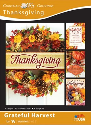Boxed Card - Thanksgiving (pack of 12) (Cards)