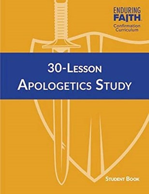 30 Lesson Apologetics Study Student Book (Spiral Bound)