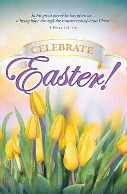 Celebrate Easter! Bulletin (Pack of 100) (Bulletin)
