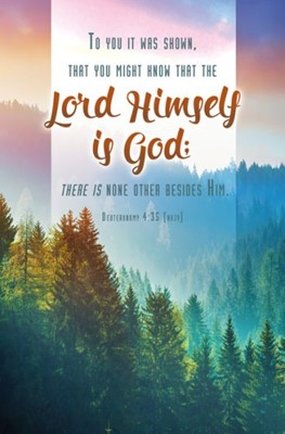 The Lord Himself is God Bulletin (Pack of 100) (Bulletin)