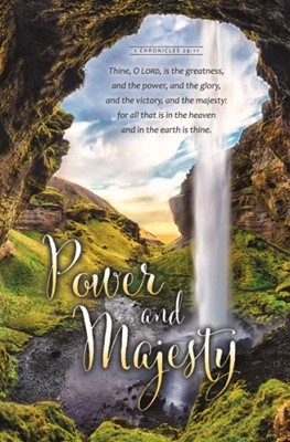 Power and Majesty Bulletin (Pack of 100) (Bulletin)