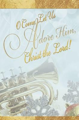 Adore Music Christmas Bulletin (Pkg of 50) (Bulletin)