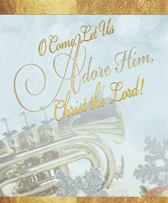 Adore Music Christmas Bulletin, Large (Pkg of 50) (Bulletin)