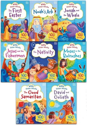 Bible Sticker Book 8 Pack (Novelty Book)
