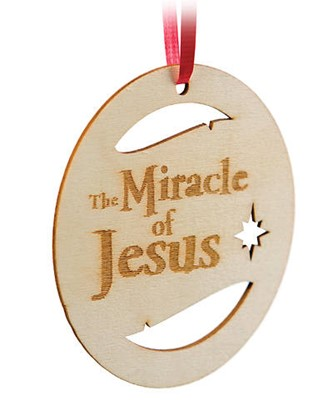 Miracle of Jesus Ornament (pack of 10) (General Merchandise)
