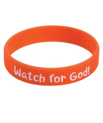Watch for God Wristbands (pack of 10) (General Merchandise)