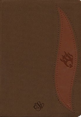 ESV Fire Bible Student Edition, Brown (Imitation Leather)
